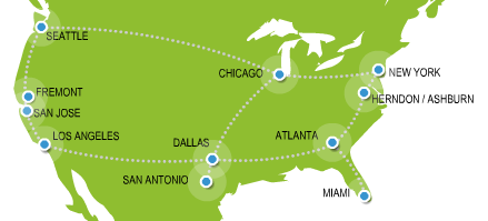 TelxTelecom Usa Map