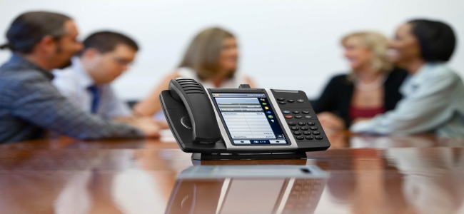 What is the Voice communication solution for Global Business